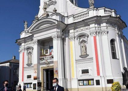 Nhà thờ ở Wadovice, nơi bé Karol Wojtyła được rửa tội (ANSA)